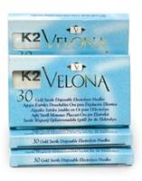 Иглы для электроэпиляции с изоляцией K2 Velona