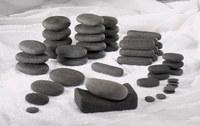 Набор базальтовых камней для стоунтерапии - 03