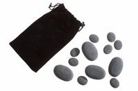Набор базальтовых камней для стоунтерапии - 01
