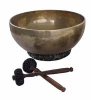 Поющая чаша из Непала ручной работы, средняя