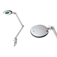 Лампа-лупа Гефест на струбцине (5 диоптрий, 60 светодиодов, 6 Вт), 6 Вт