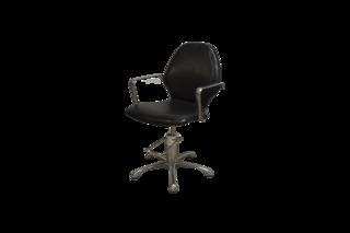 """Парикмахерское кресло """"Профи 1"""" (гидравлика, хром)"""
