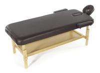 Стационарный массажный стол деревянный FIX-MT2