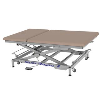 Широкий массажный стол Титулус 2 секции