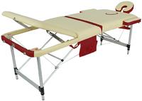 Массажный стол складной алюминиевый JFAL01A (3-х секционный) NEW