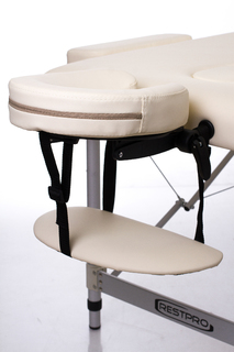 Стол массажный складной Алюм 2Л (кремовый)