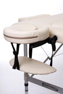 Стол массажный складной Алюм 3 (кремовый)