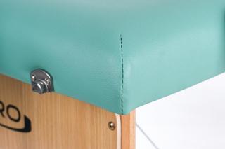 Стол массажный складной Классик 2 (бирюза)