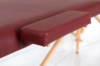 Стол массажный складной Классик 2 (бордо)