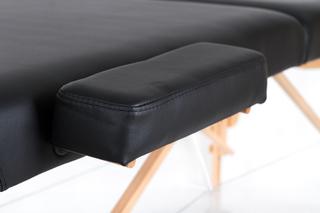 Стол массажный складной VIP 2 (черный)