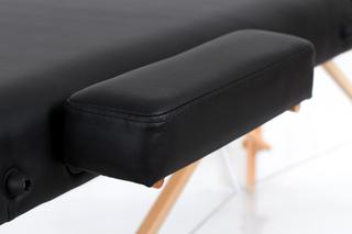 Стол массажный складной VIP 3 (черный)