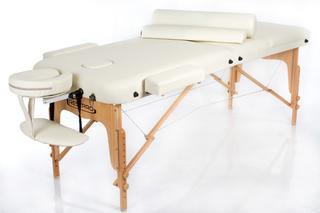 Стол массажный складной VIP 3 (кремовый)