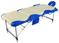 Массажный стол складной алюминиевый Атом JF-02А