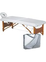 Стол массажный Silver Fox МК15 раскладной с регулируемой высотой (чемодан в чехле)